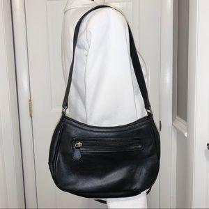 Liz Claiborne Bags - Liz Claiborne black sleek smooth shoulder bag